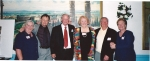 40th Reunion Group that went to 2nd grade together; Natalie Roulston Palmer, Peter Daley, Ralph Stewart, Lindsey Chester